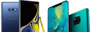Compare Huawei Mate 20 Pro vs Samsung Galaxy Note 9 Mobile Phone Deals